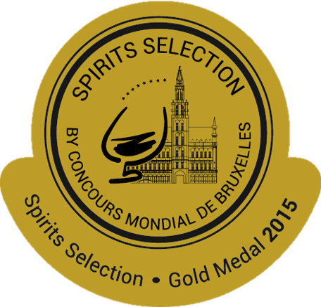 BRUXELLES 2015: BEST GIN Gold Medal