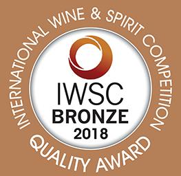 IWSC 2018 : GIN & TONIC Bronze Medal