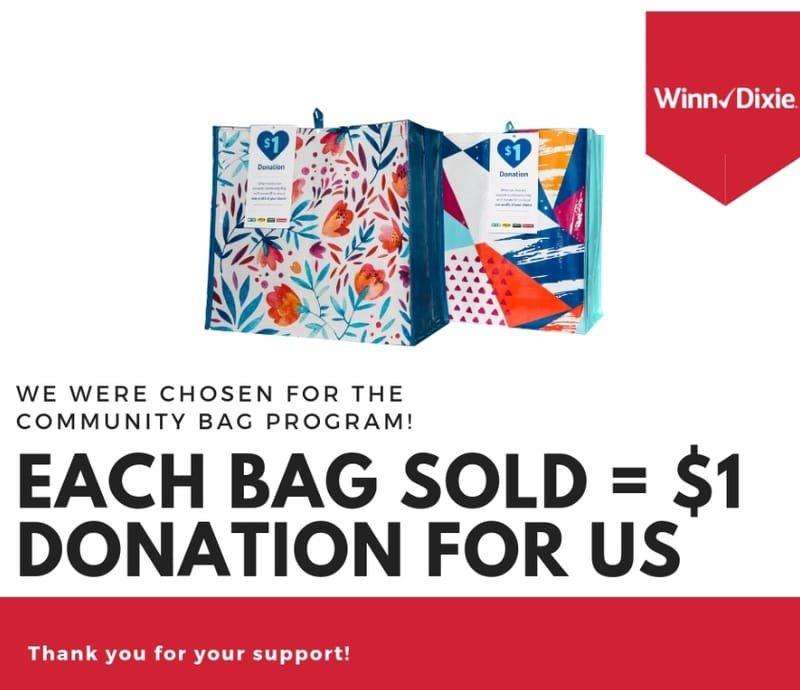 Winn Dixie Community Bag Campaign