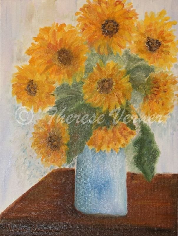 Sunflowers for Beth