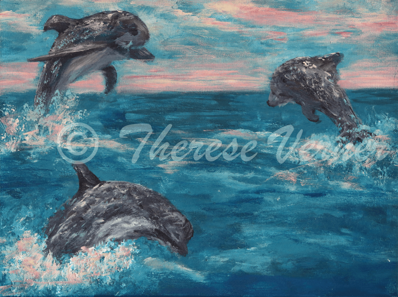 Frolicking Dolphins