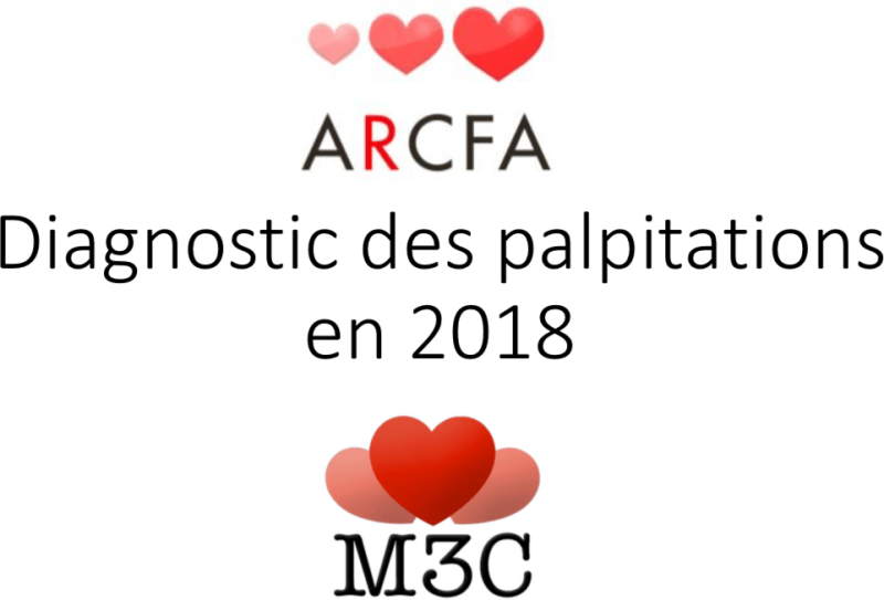 Diagnostic des palpitations en 2018