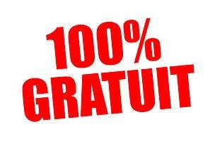 100% Gratuit