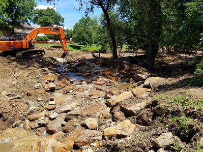 Pope Branch Stream Restoration