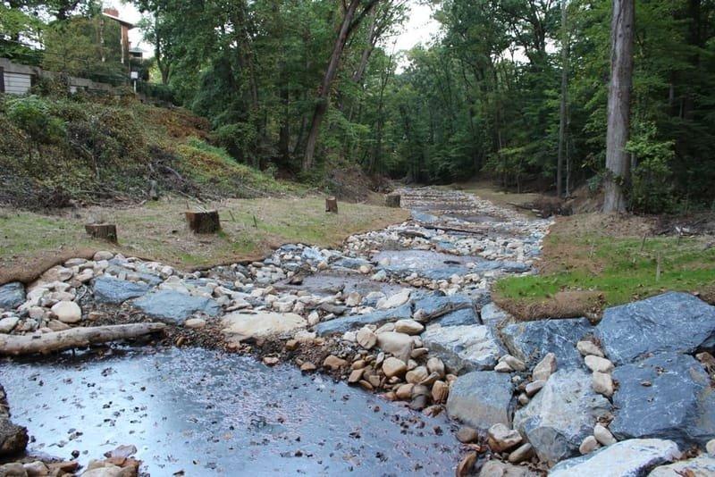 Alger Park Stream Restoration
