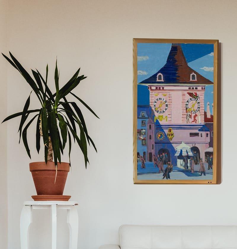 A Digital Art Frame
