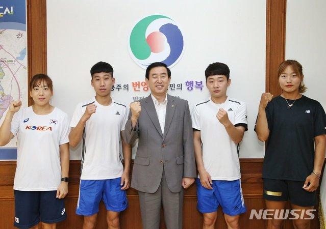 [충주소식]시청 직장운동경기부 4명 아시안게임 출전 등