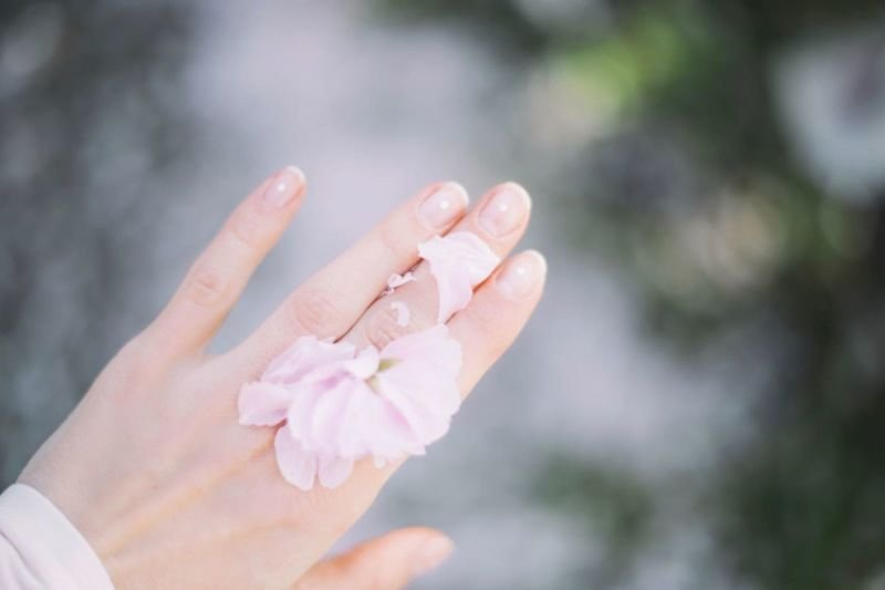 Frühlingsfrische Haut