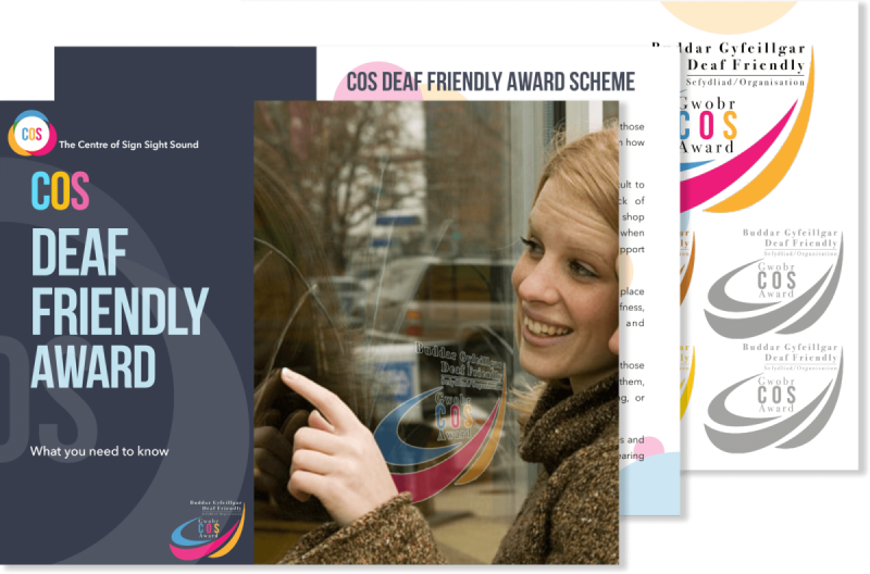 COS Deaf Friendly Award Scheme Brochure