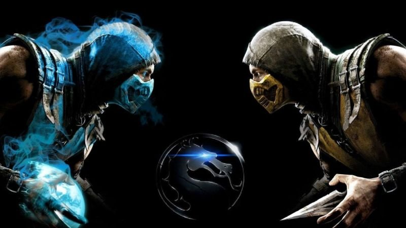 Sub-zero vs Scorpion in Super Smash Bros Brawl