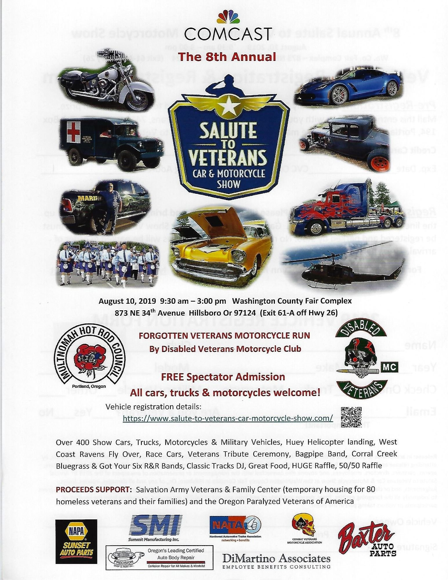 SALUTE to VETERANS Car & Motorcycle Show - SALUTE TO VETERANS