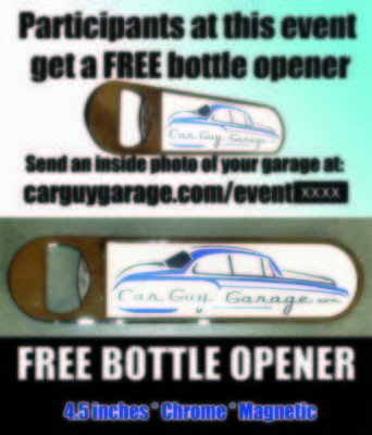 Picture of ( bottle opener ) from Car Guy Garage