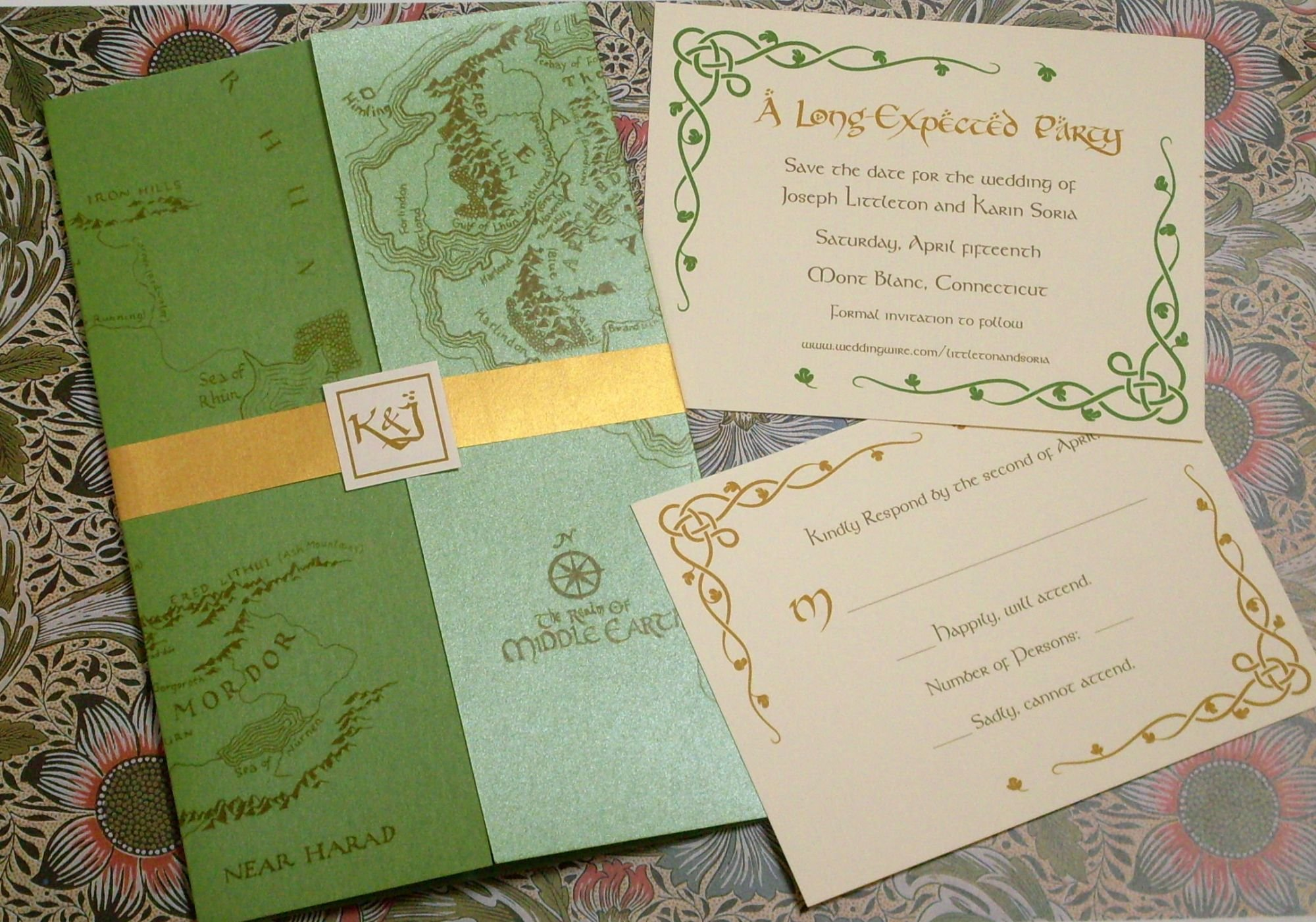 Alternative Wedding Invitations For The Adventurous Midnight Revels