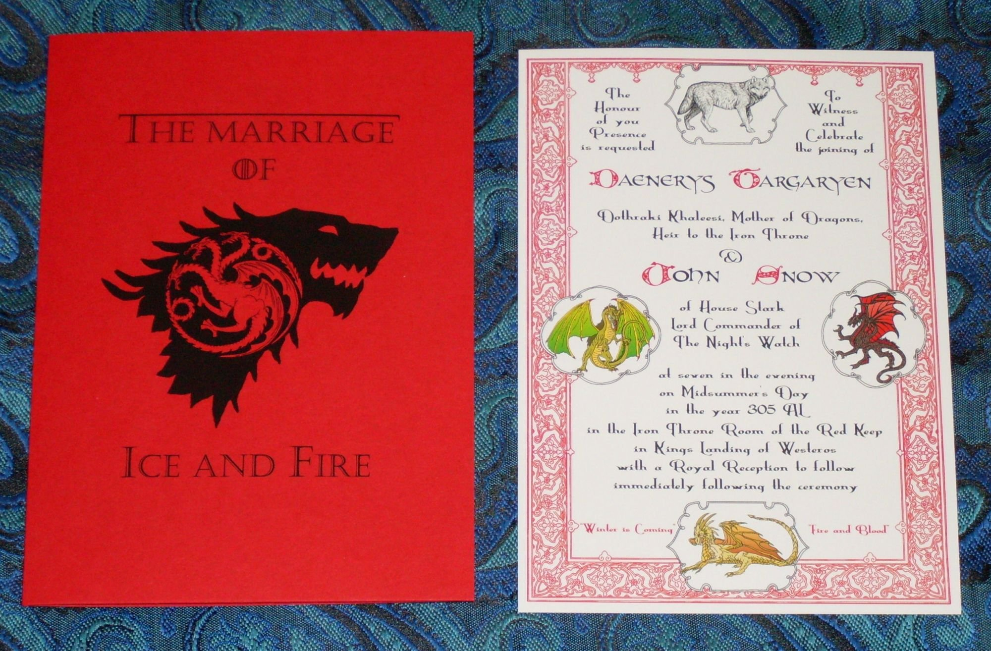 Alternative Wedding Invitations for the Adventurous – Midnight Revels