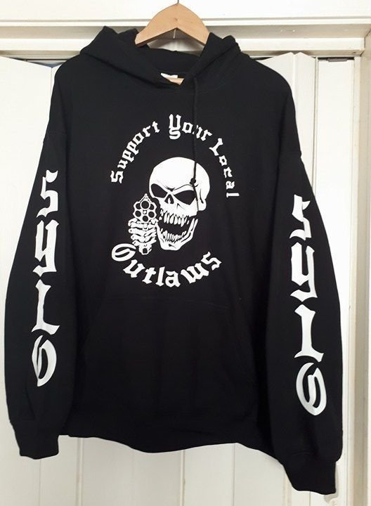 Support Your Local Outlaws Hoodie, H008 - SYLO