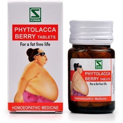 Willmar Schwabe India Phytolacca Berry Tablets 20g Natural A1
