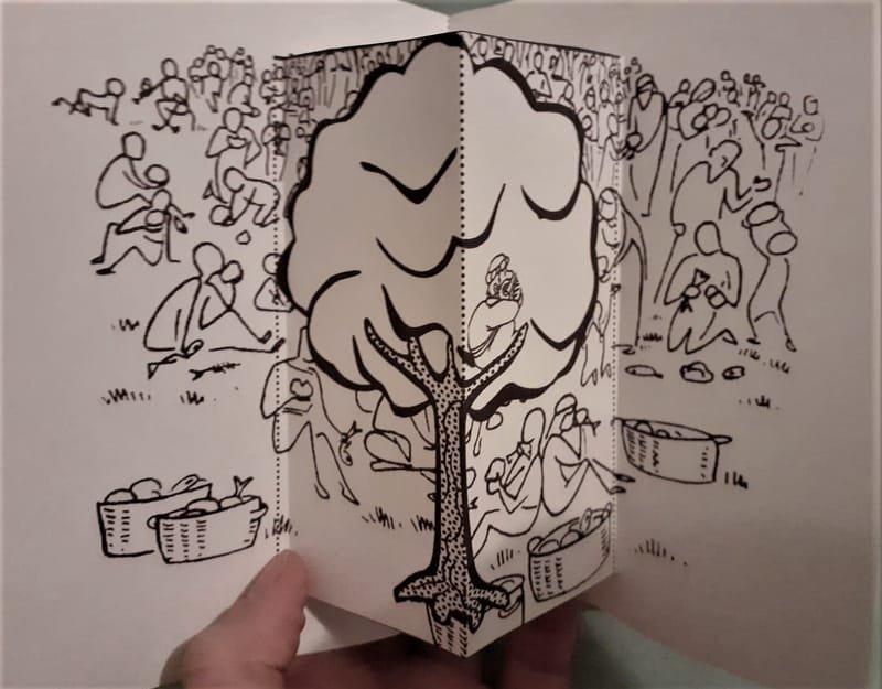 Zacchaeus Popup Card