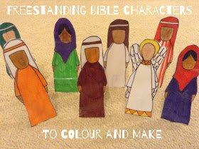 Freestanding Bible Characters