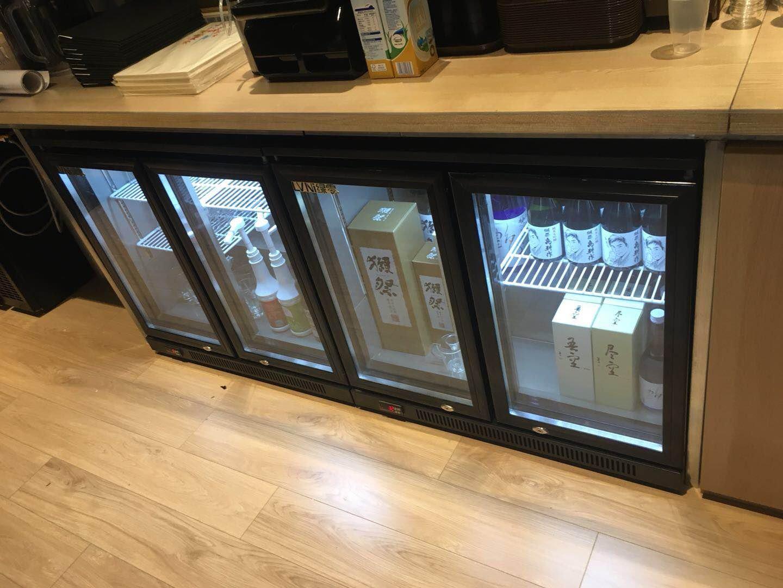 Commercial refrigerator 丨underbar refrigeration
