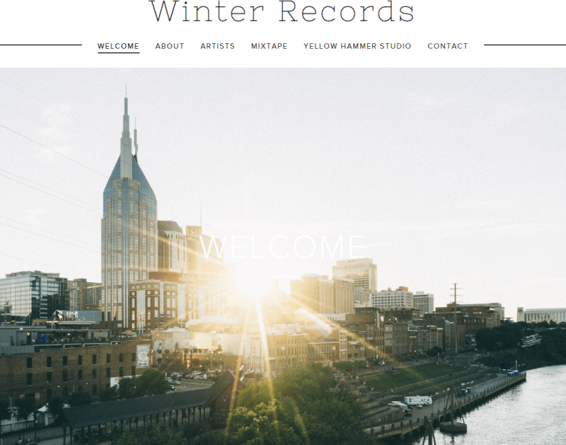 Partner with Winter Records Based in Nashville, Tennessee