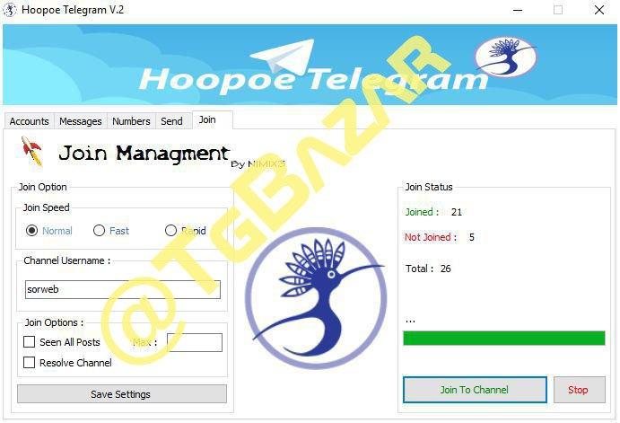 telegram account builder
