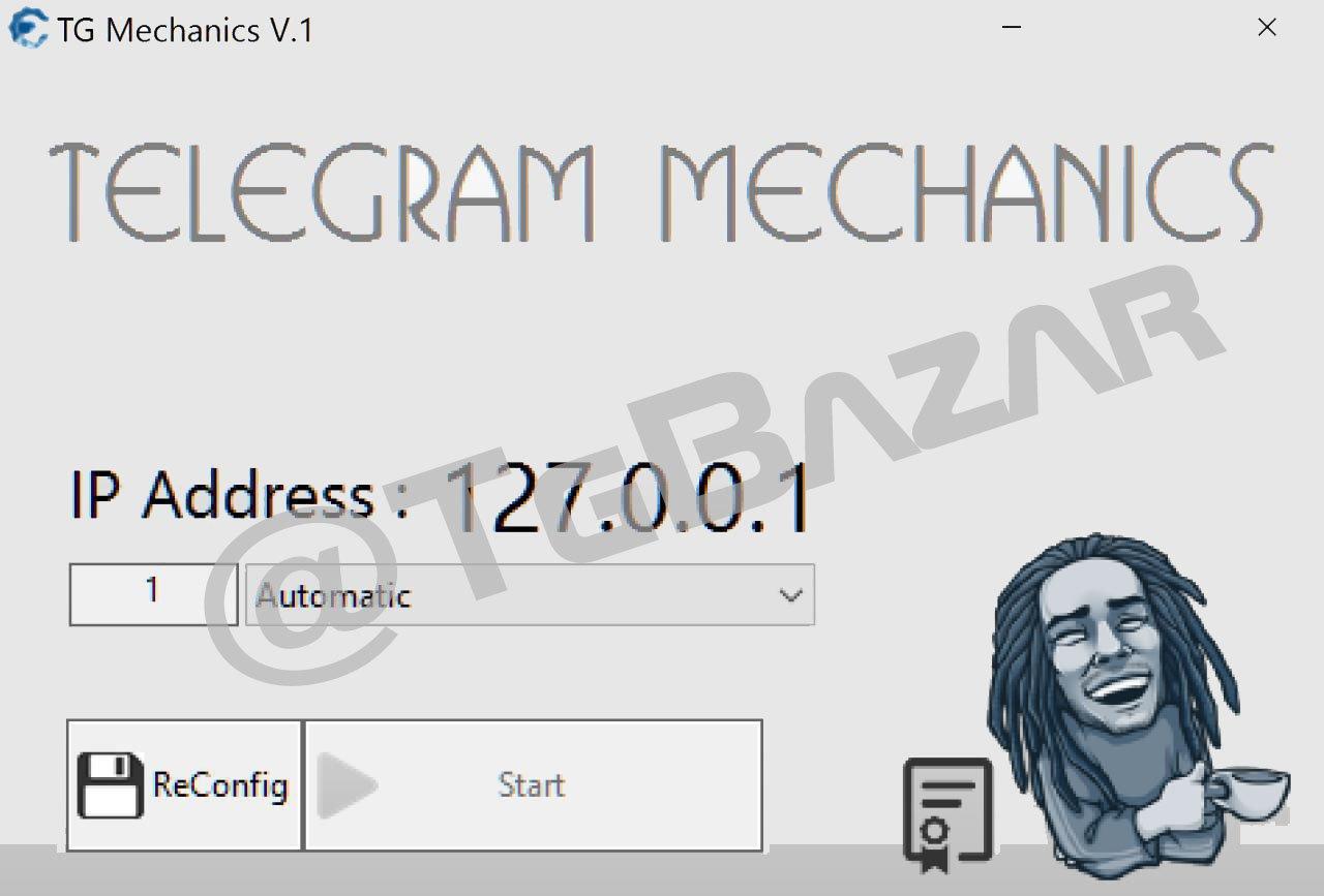 telegram mechanics