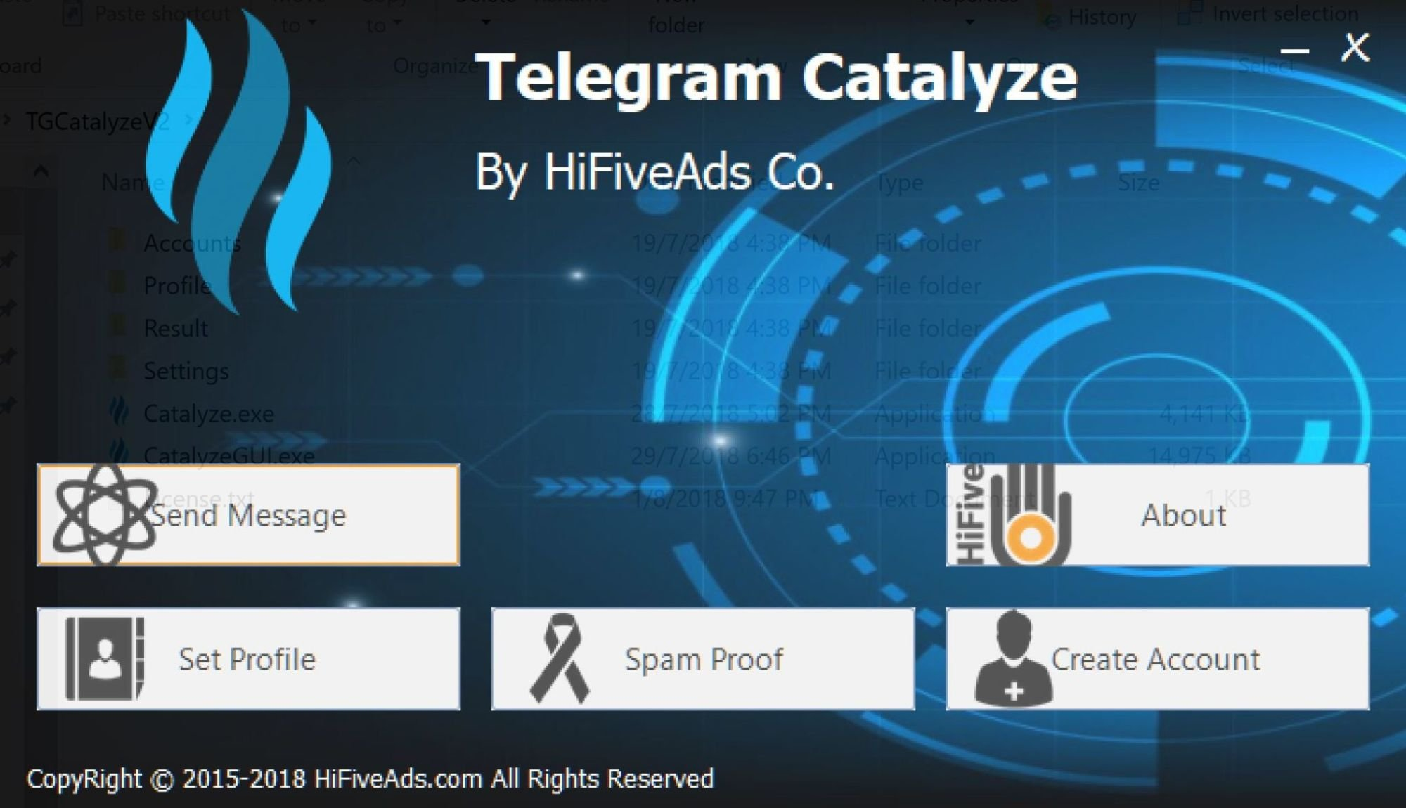 Telegram Catalyz