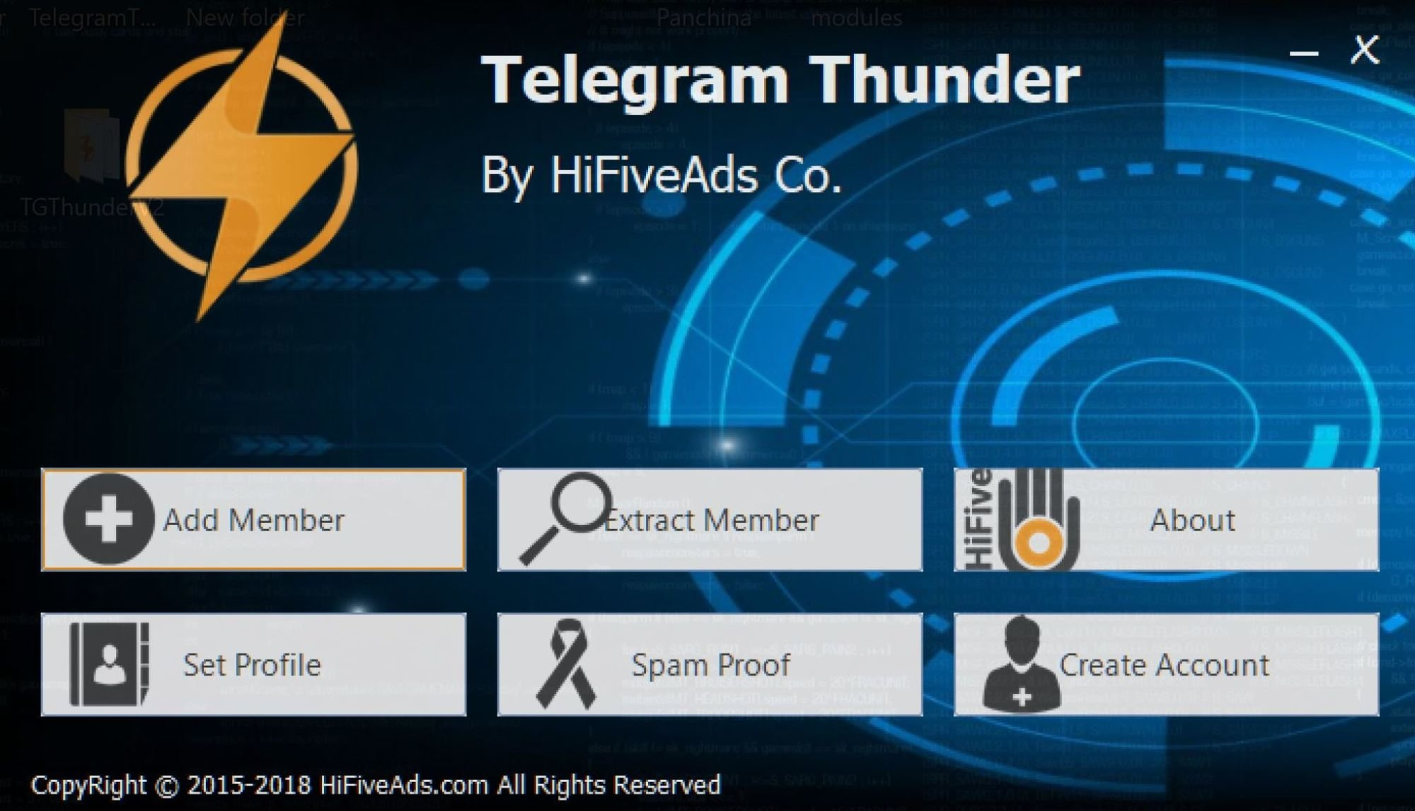 Telegram Thunder