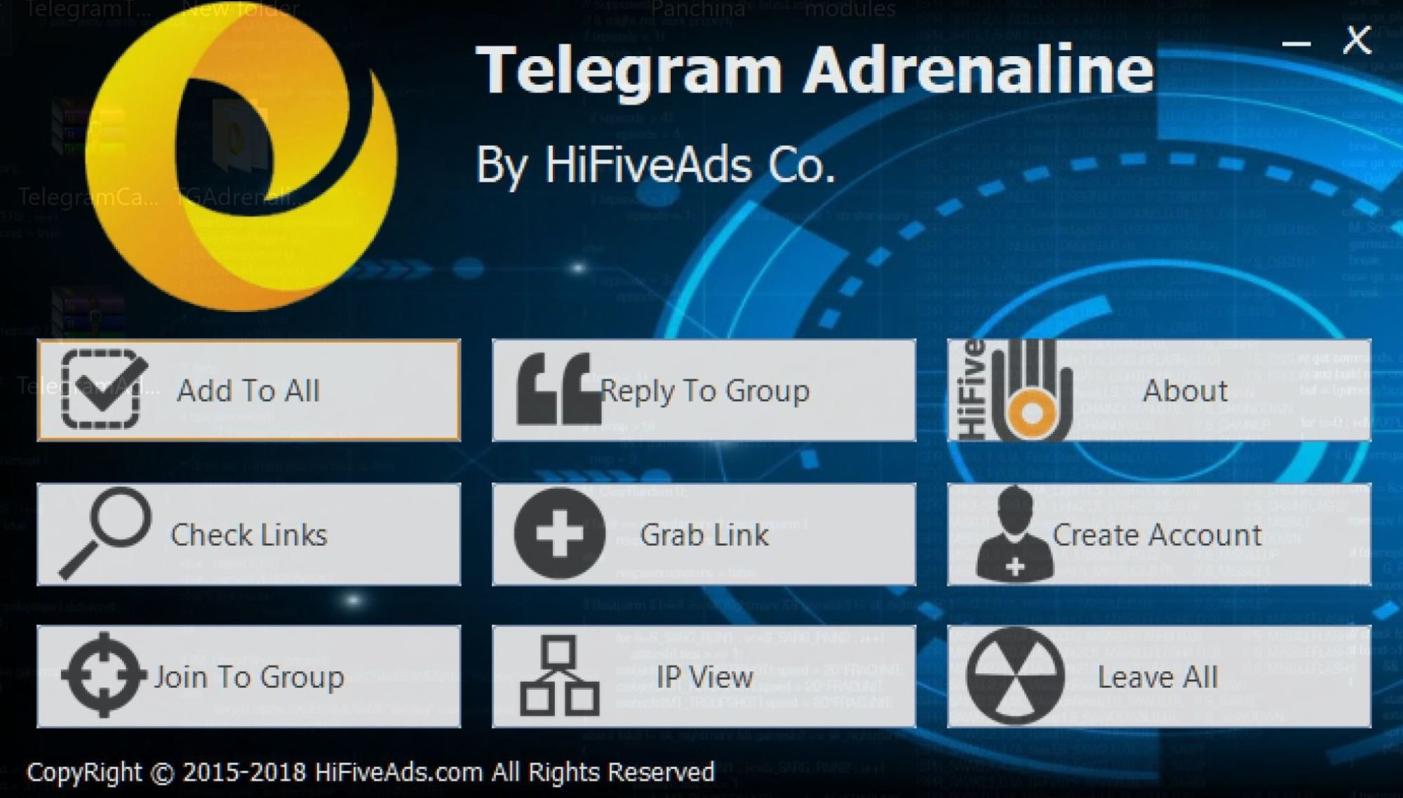 telegram adrenaline