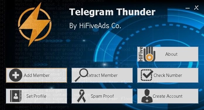 telegram thunder