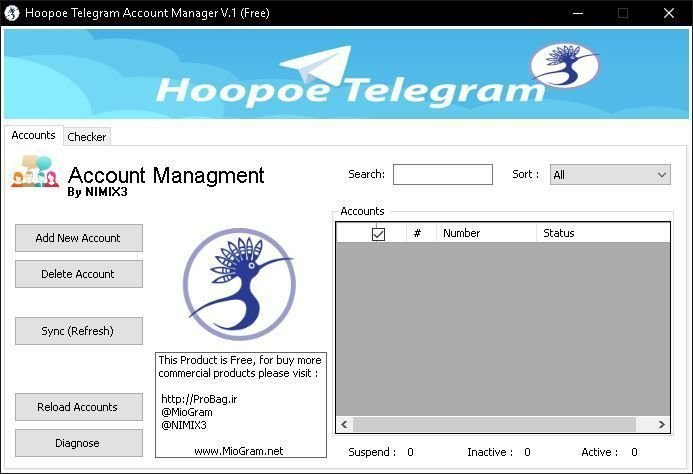 Telegram Account Checker & Generator