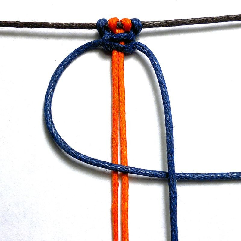 Macrame square knot column tutorial Imbali Crafts