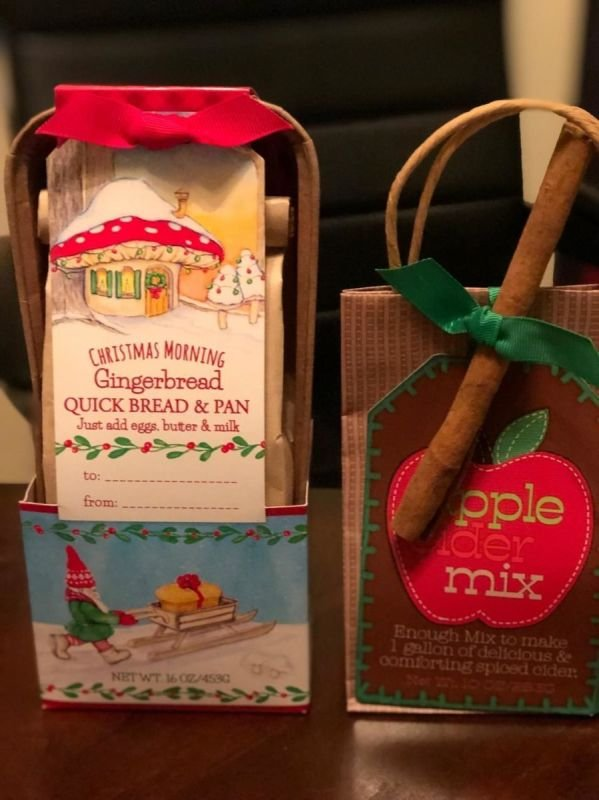 New arrivals for Amy Lane Jams Christmas Baskets