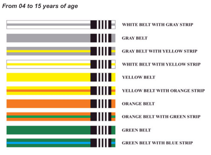 Children and Adults Belt Ranking - Gracie Jiu-Jitsu Redwood City