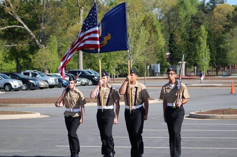 Color Guard Team