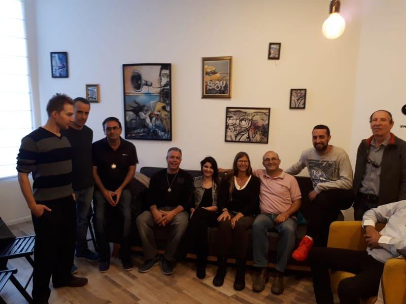 מפגשים חודשיים בתל אביב