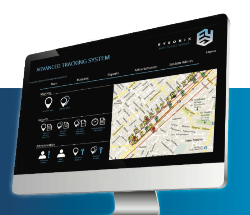 A robust and feature-rich client-server GPS application with fleet management and critical asset tracking capabilities