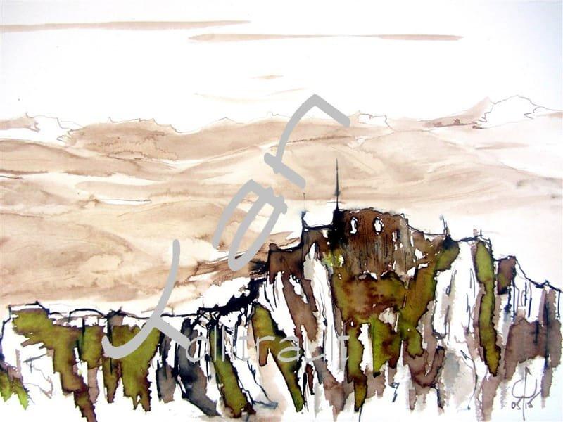 ROQUEFIXADE - Site fortifié cathare - 2014