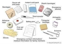 What to put in your First Aid Kit