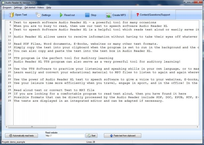 Text to Speech Software for School and University