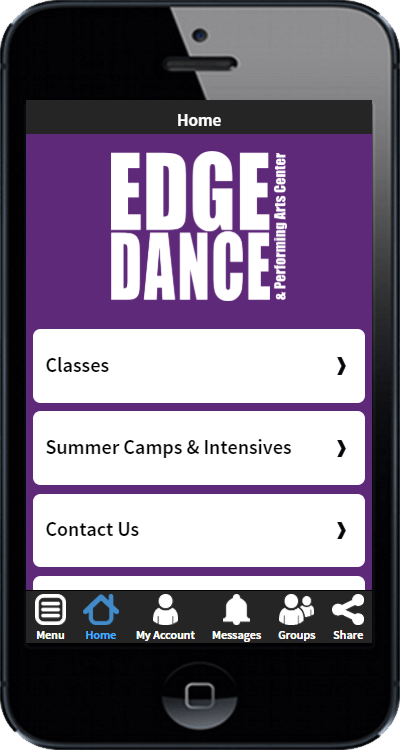 Get The Edge Dance App Today! - EDGE DANCE & PERFORMING ARTS CENTER