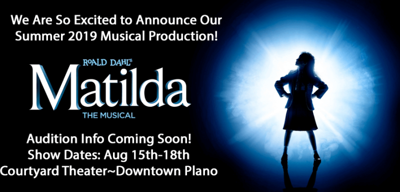 Auditions-Matilda The Musical