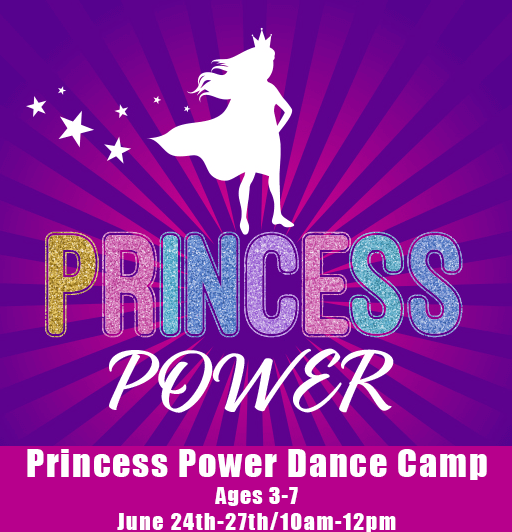 Princess Power Summer Dance Camp (3-7yrs)