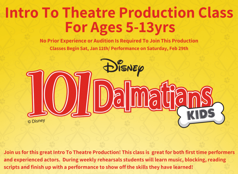 Disney 101 Dalmatians Kids Production Class