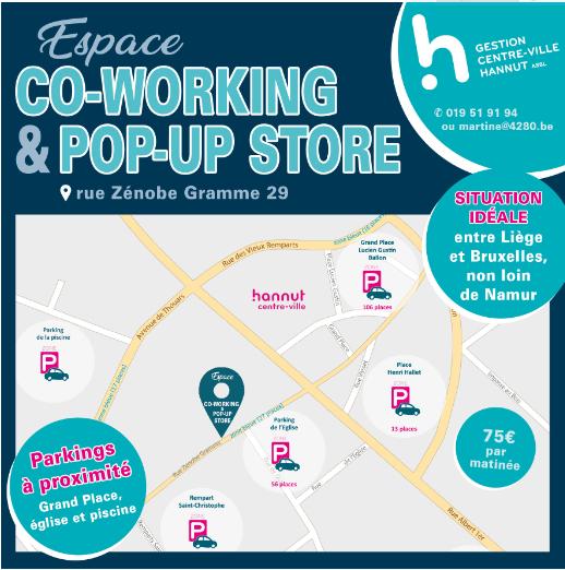 Espace de co-working et pop up store