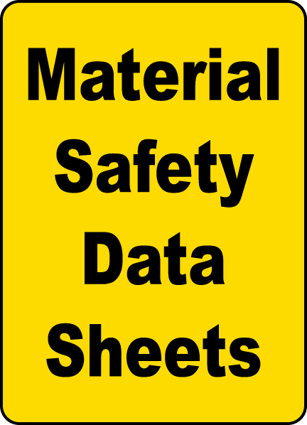 Reasons Why You Should Consider Safety Data Sheets Seriously