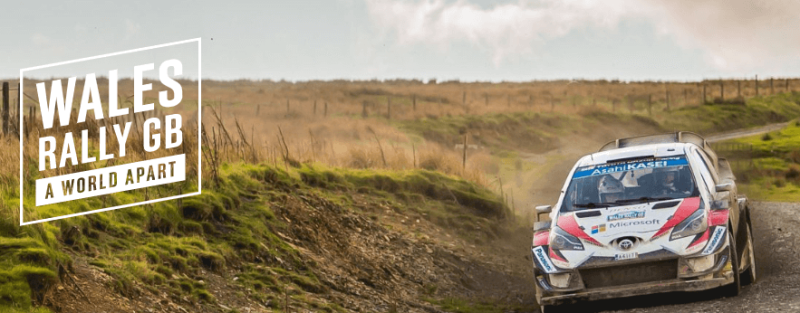 3rd 6th October 2019 Wales Rally GB