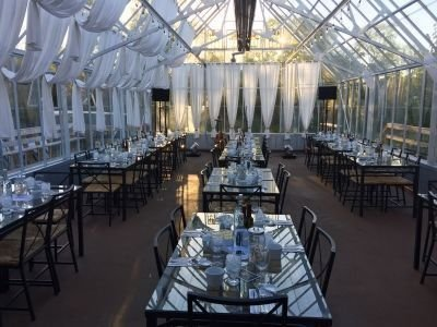 Glass Conservatory Dining