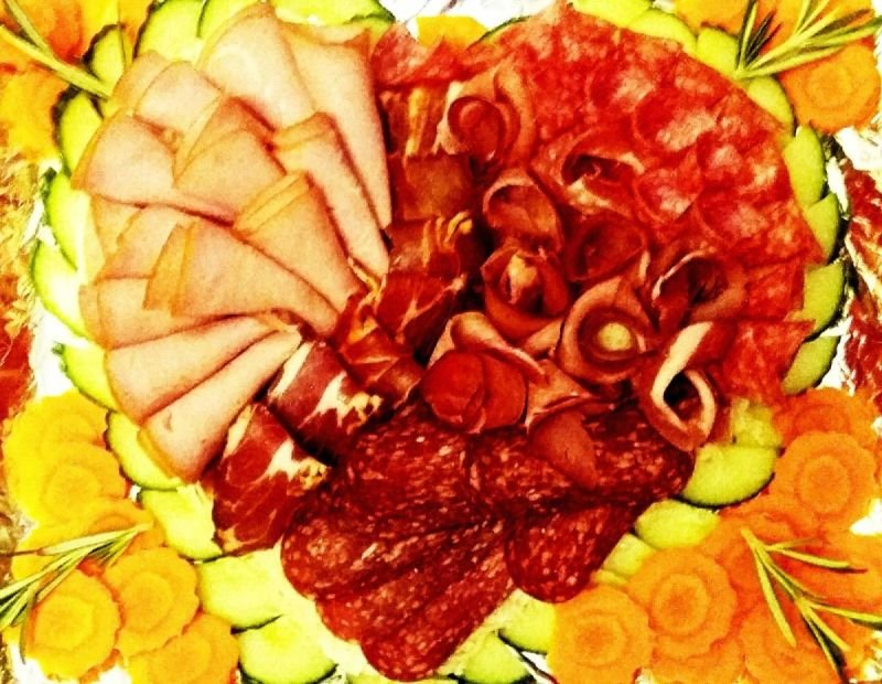 Плато колбаси