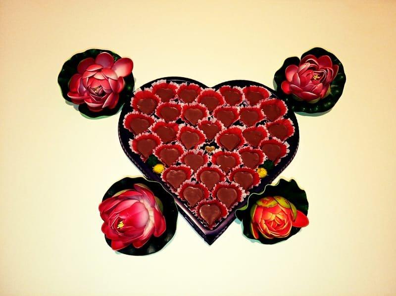 "Шоколадови бонбони ""Любов"""